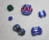 Brenda's Multiplied Sparkle (beaded beads)
