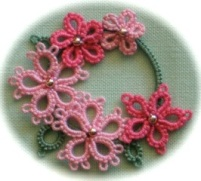 Judith's  FLORAL  CIRCLET Photo courtesy of Judith Connors